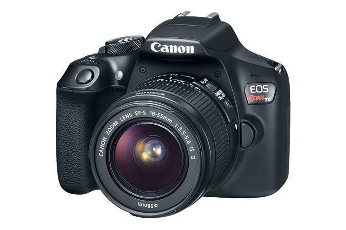 Canon T6/EOS 1300D Review Front