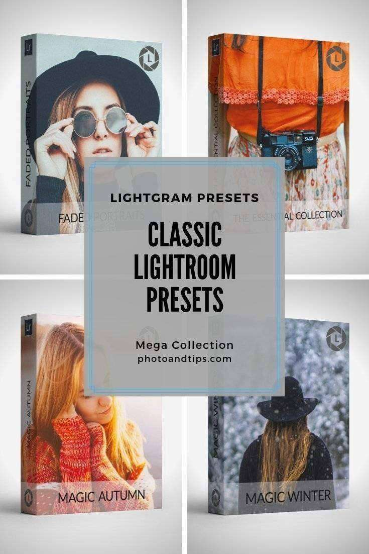 Lightroom Classic Presets Bundle