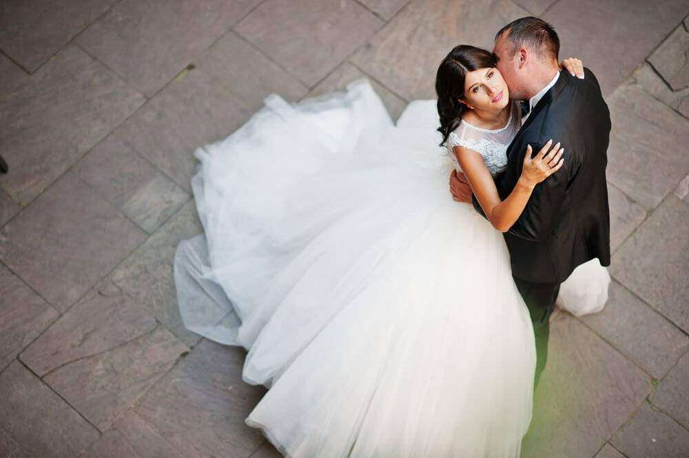 Wedding Photography - Take Photo Above