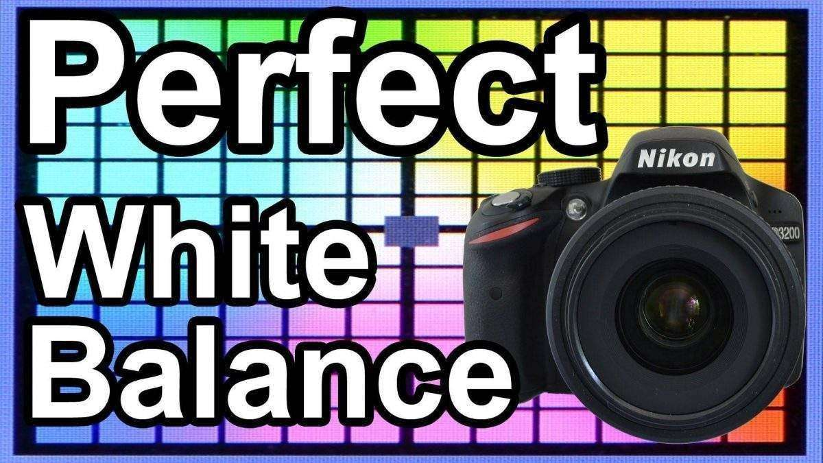 Preset White Balance Settings(VIDEO)